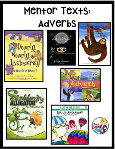 Mentor texts are one of my favorite tools to use in the classroom and I love using them to teach grammar. To me, grammar is just one of those subjects that needs some spicing up. It's kind of like mashed potatoes without any salt. Sure, it's functional, but it's so...