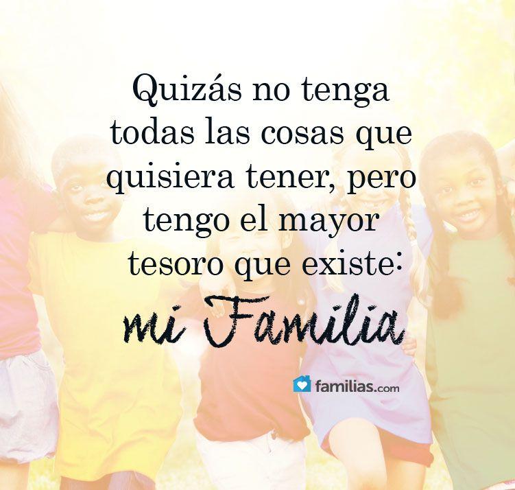 Wwwfamiliascom Yo Amo A Mi Familia Frases De Amor