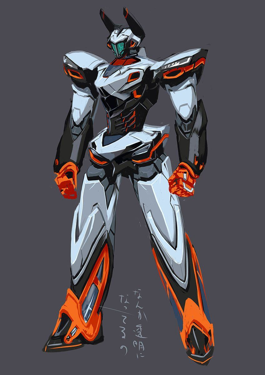 道糞 On Mecha Anime Armor Concept Robot Art