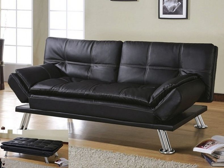 Medium image of leather sofa beds costco