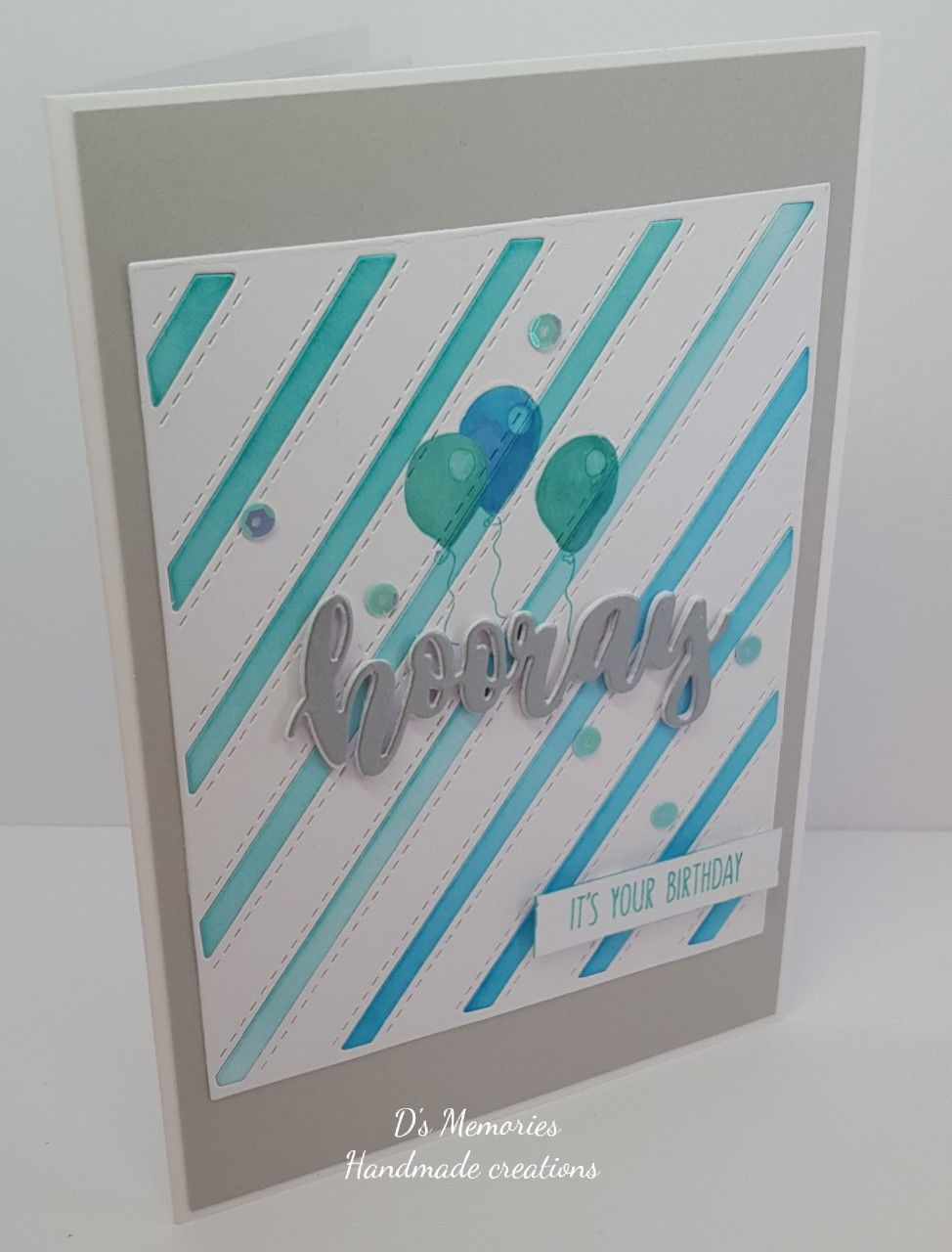 Birthday card hooray die concord and th other items unbranded
