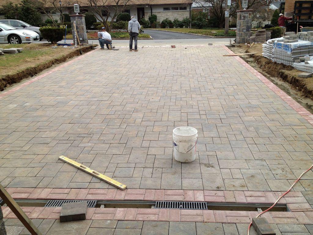 Westchester Pavers Patio, Concrete Patios And Paver Driveway Installation |  DaLomba Masonry, Stucco,