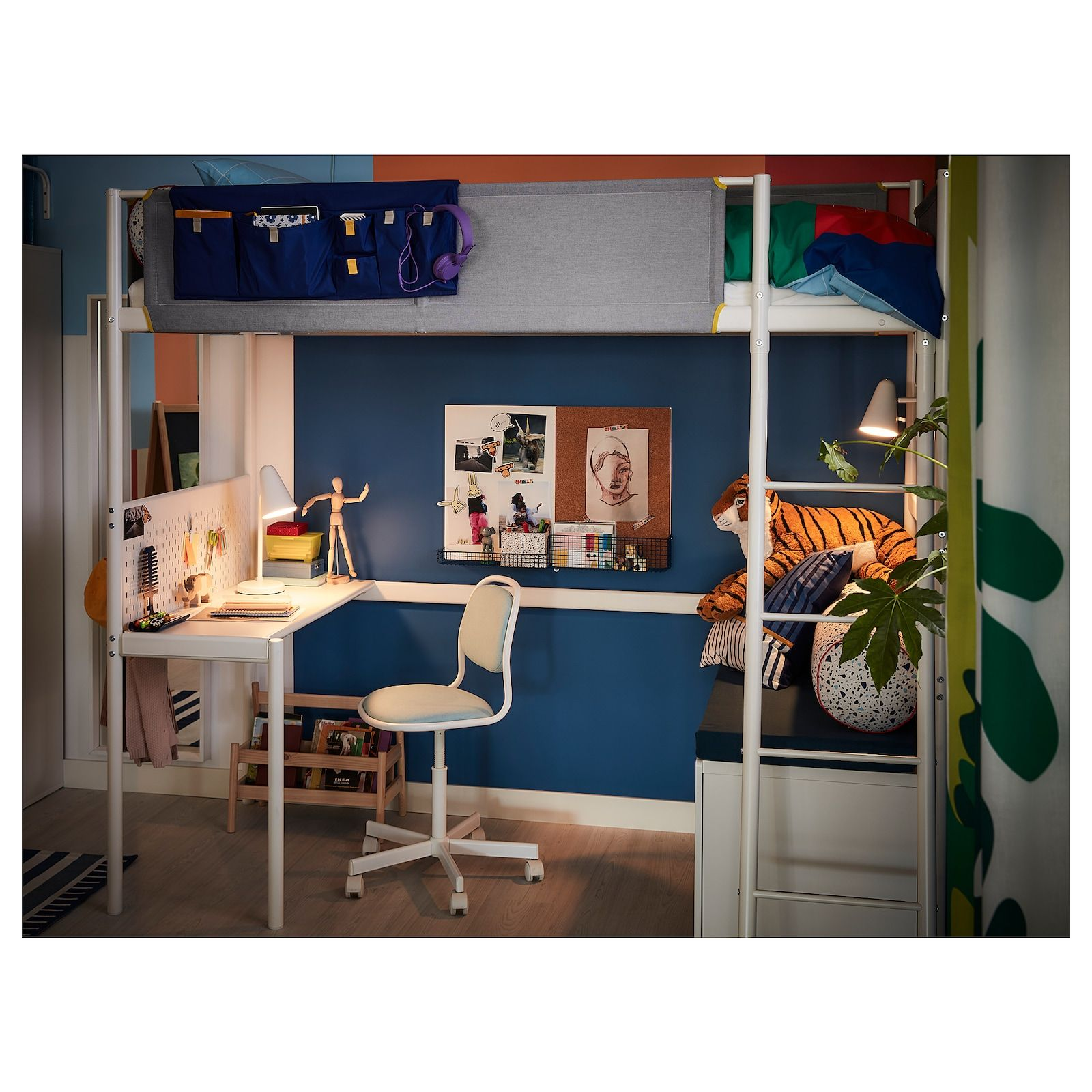 40++ Ikea bed frame with desk ideas
