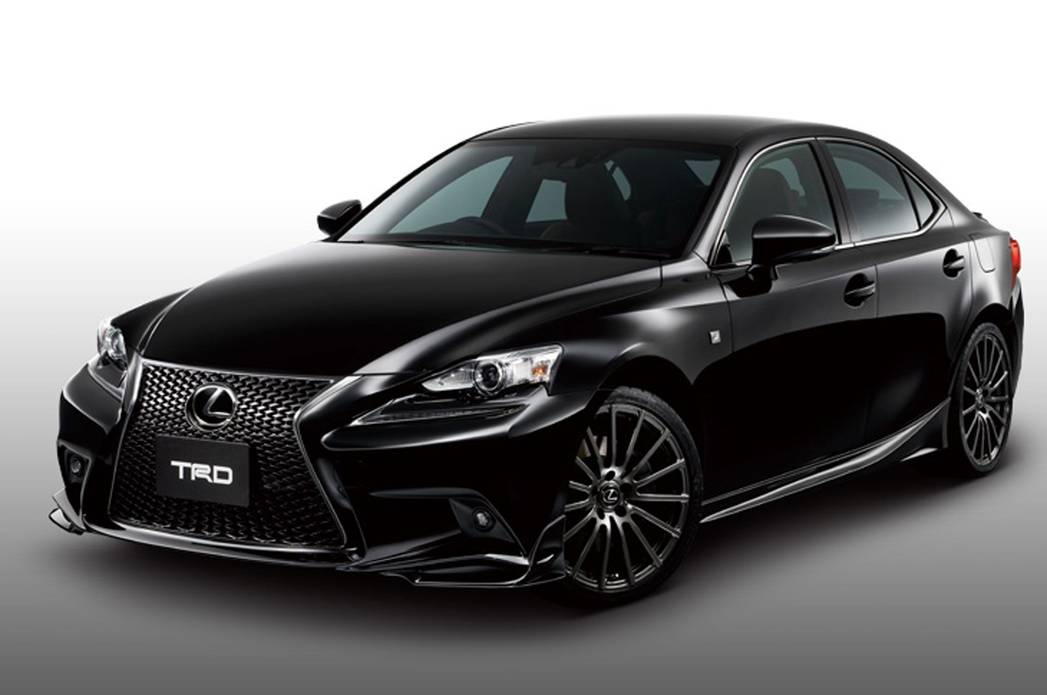 TRD Offers 2014 Lexus IS F Sport Upgrade in Japan 2016