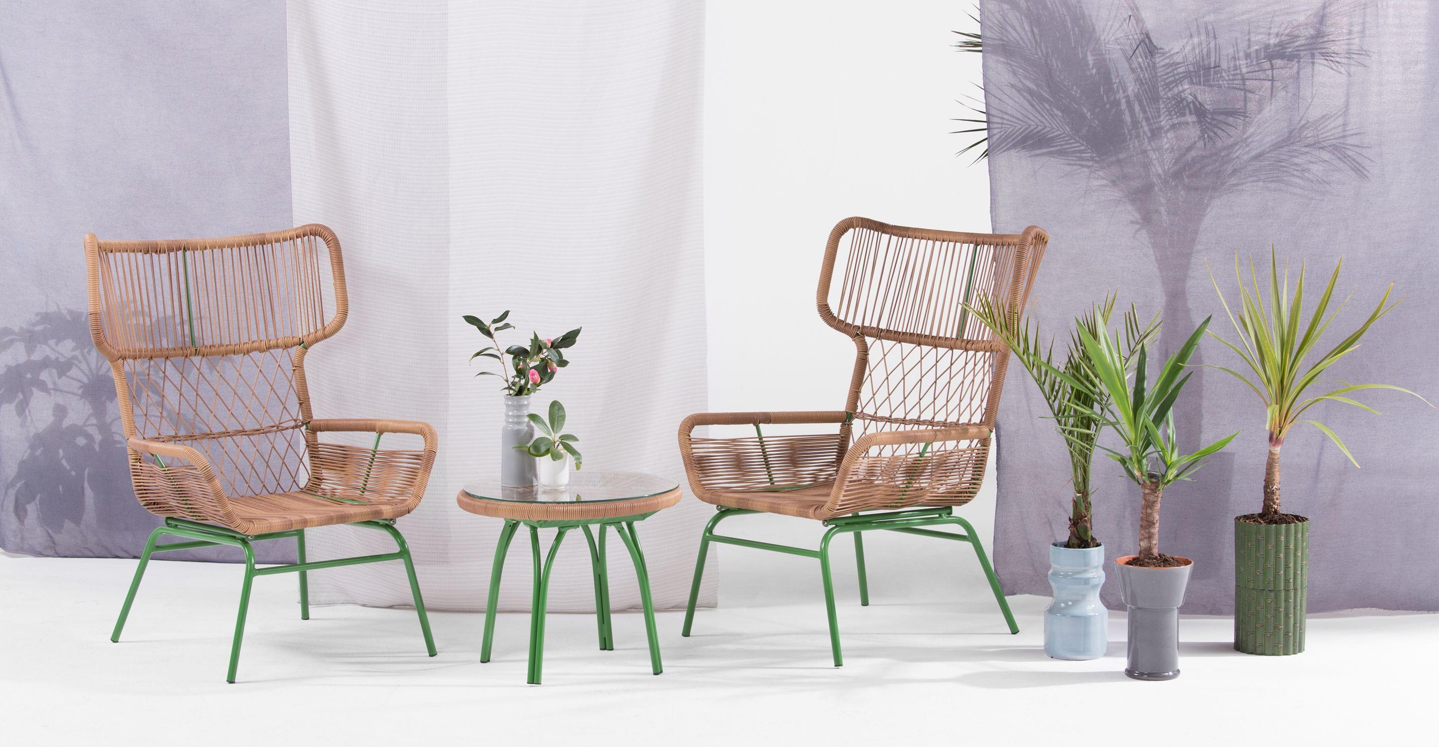 Lyra Lounge Set, Green | made.com