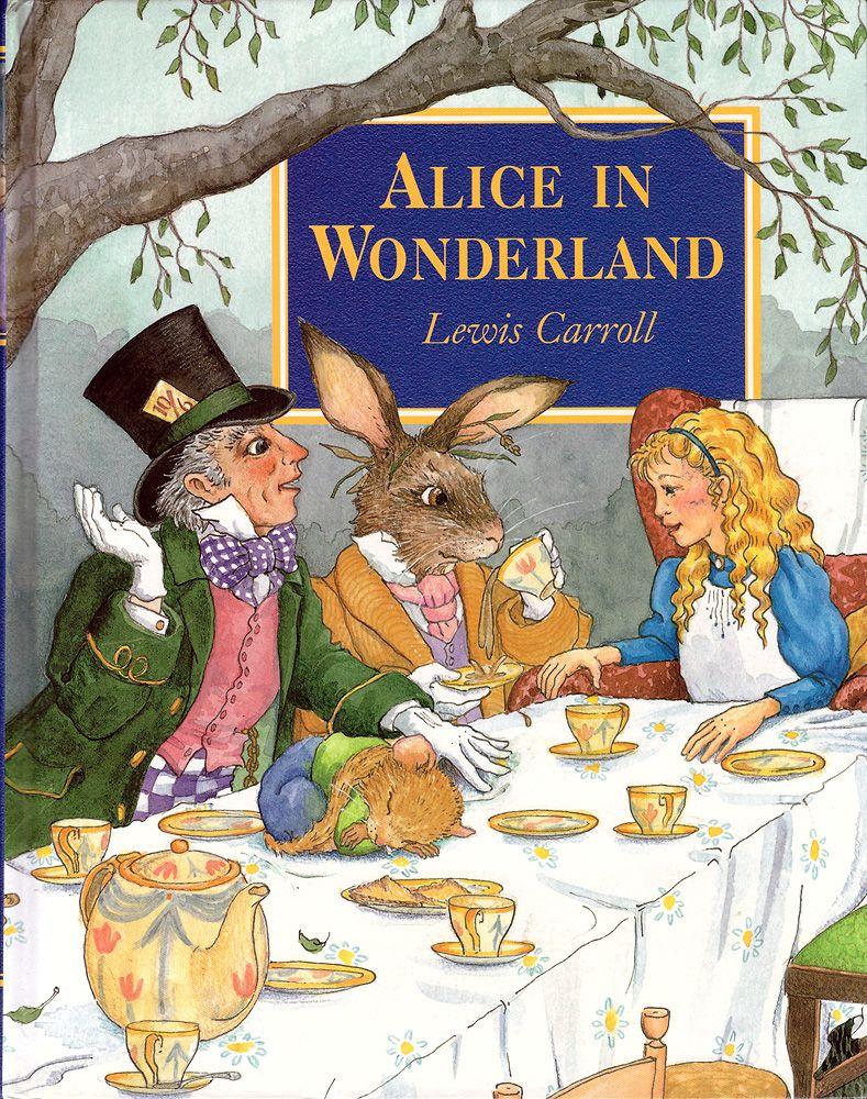 Алиса в стране чудес картинки на английском