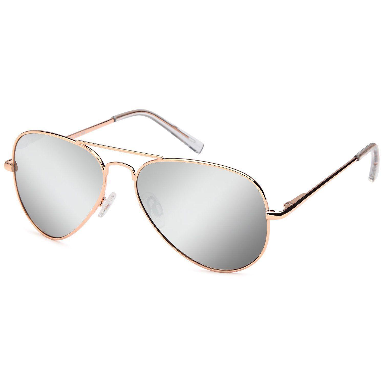 4c54dbb756 JETPAL Premium Classic Aviator UV400 Sunglasses w Flash Mirror Lenses Choose  From Adult or Kids Sizes