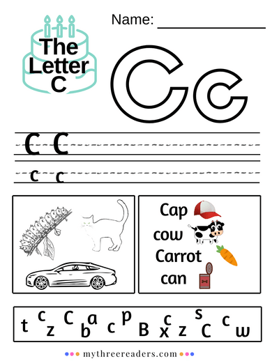 The Letter C - Activities, Worksheets, Songs & Best Videos Letter C  Worksheets, Letter C Activities, Preschool Letters