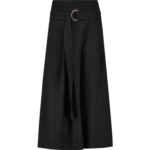 Paper London Gansta crepe culottes (£140) ❤ liked on Polyvore featuring  pants,