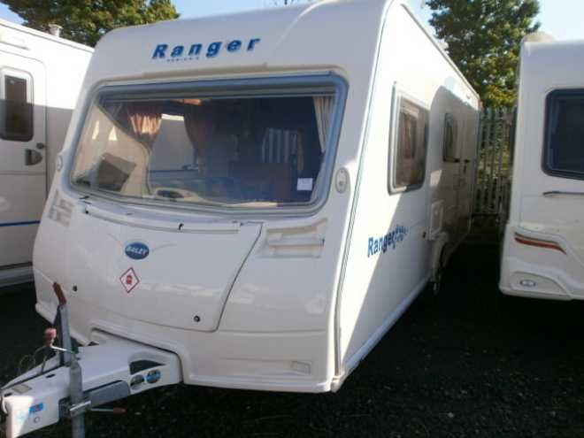 Bailey Ranger 470 4 2008 4 Berth 2008 Used Touring Caravan For