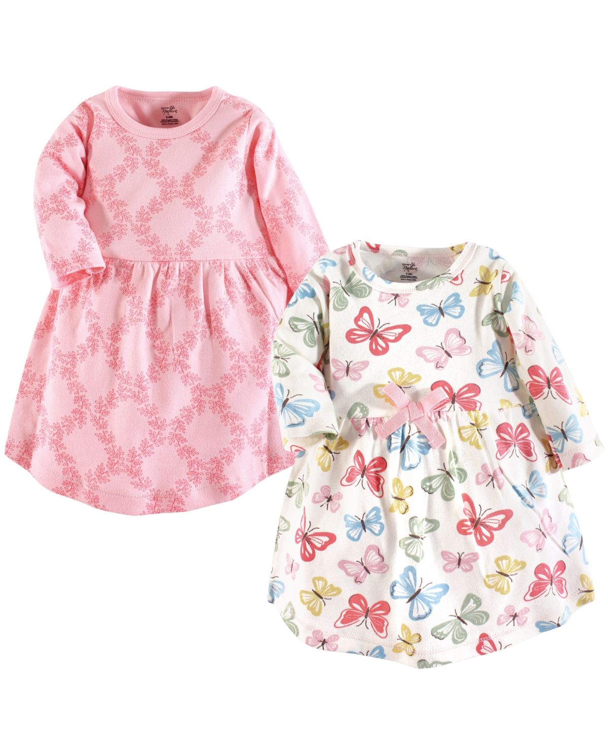 Touched By Nature Baby Girl Organic Cotton Dress Long Sleeve 2 Pack Reviews All Girls Dresses Kids Macy S In 2020 Organic Cotton Dress Organic Dress Baby Girl Dress [ 1467 x 1200 Pixel ]