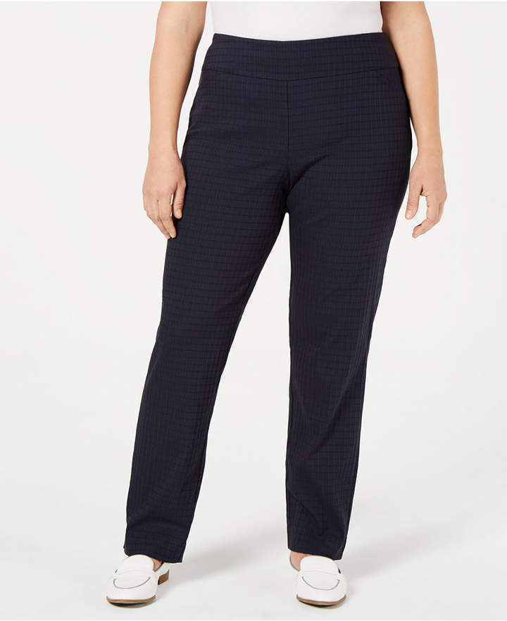 Charter Club Plus Size Cambridge Pants Created For Macy S Reviews Pants Leggings Plus Sizes Macy S Celana