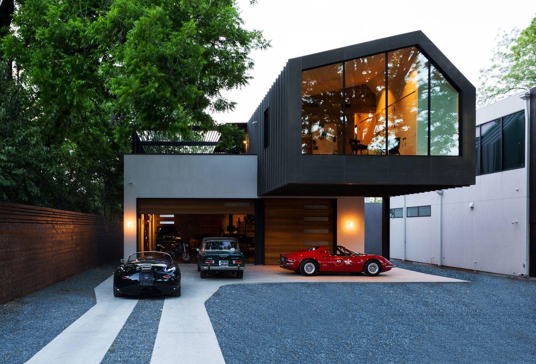 Autohaus By Matt Fajkus Architecture Restaurant Architecture Facade Design Architecture