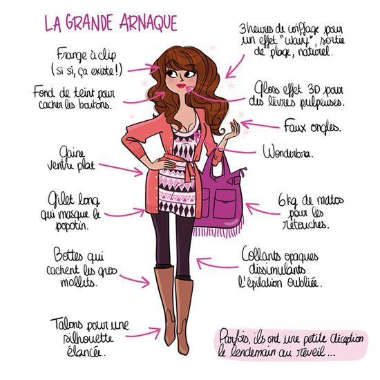 Book de l'illustratrice Magalie F Portfolio : Portfolio | Juste pour rire, Humour, Dessin humour