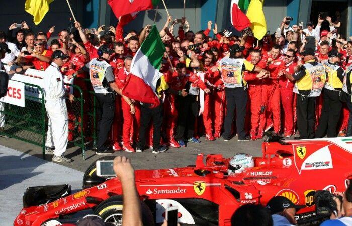 Kemenangan Ferrari di GP Australia Bungkam para Pengkritik