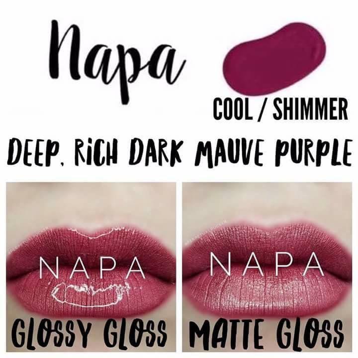 Napa Lipsense #LipstickArt