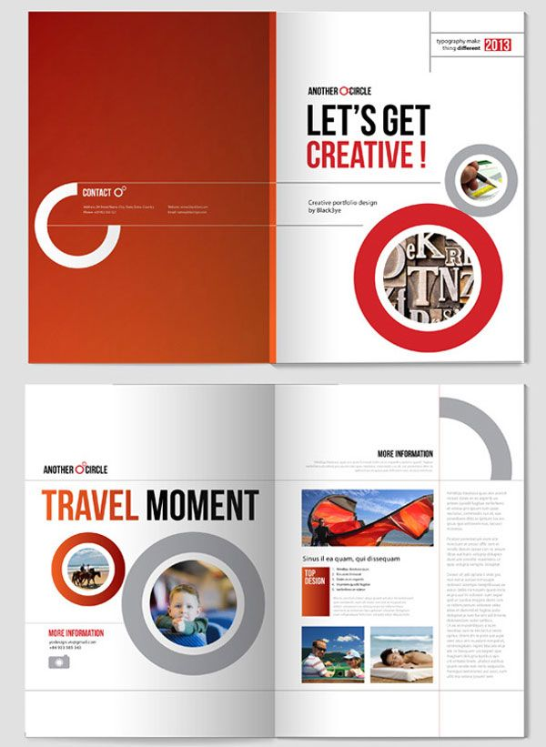 Creative Indesign Brochure Design Template Simple Yet - Creative brochure templates