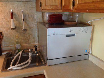Amazon Com Spt Countertop Dishwasher Silver Portable