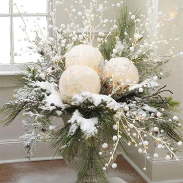 Urn Decor Entrancing Christmas Urn Decoration  Holiday Decor  Pinterest  Christmas Review