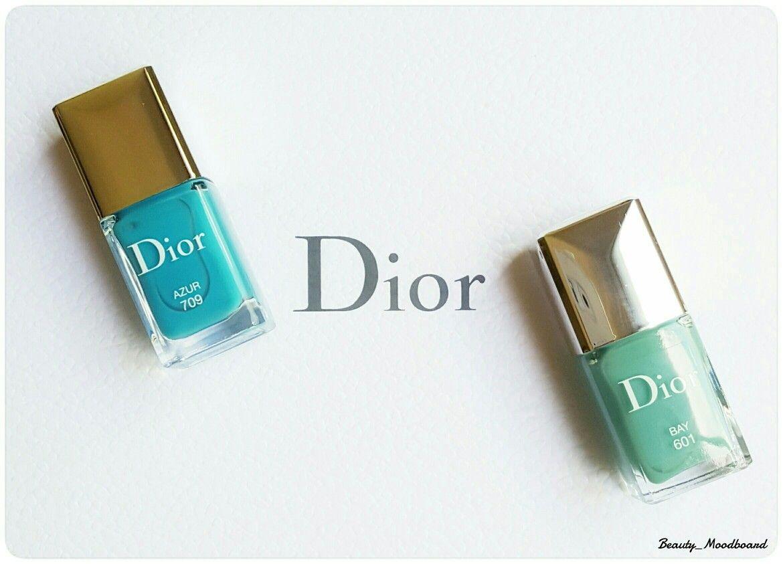 Dior Riviera Summer 2016 Bay 601 Azur 709 | Vernis en folie | Pinterest