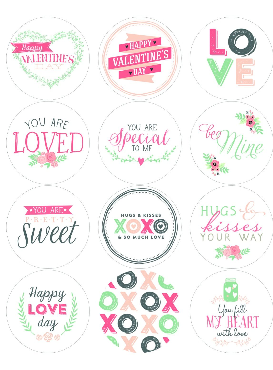 b62d3438a046 Pin by WorldLabel on Printable Labels and Tags!   Valentines ...