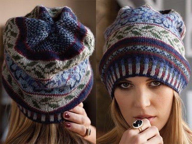fair isle patterns | Free fair isle knitting patterns hats ...
