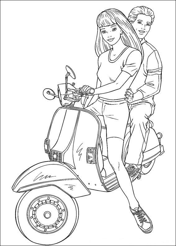Barbie 13 Kostenlose Ausmalbilder Barbie Coloring Barbie Coloring Pages Coloring Pages To Print