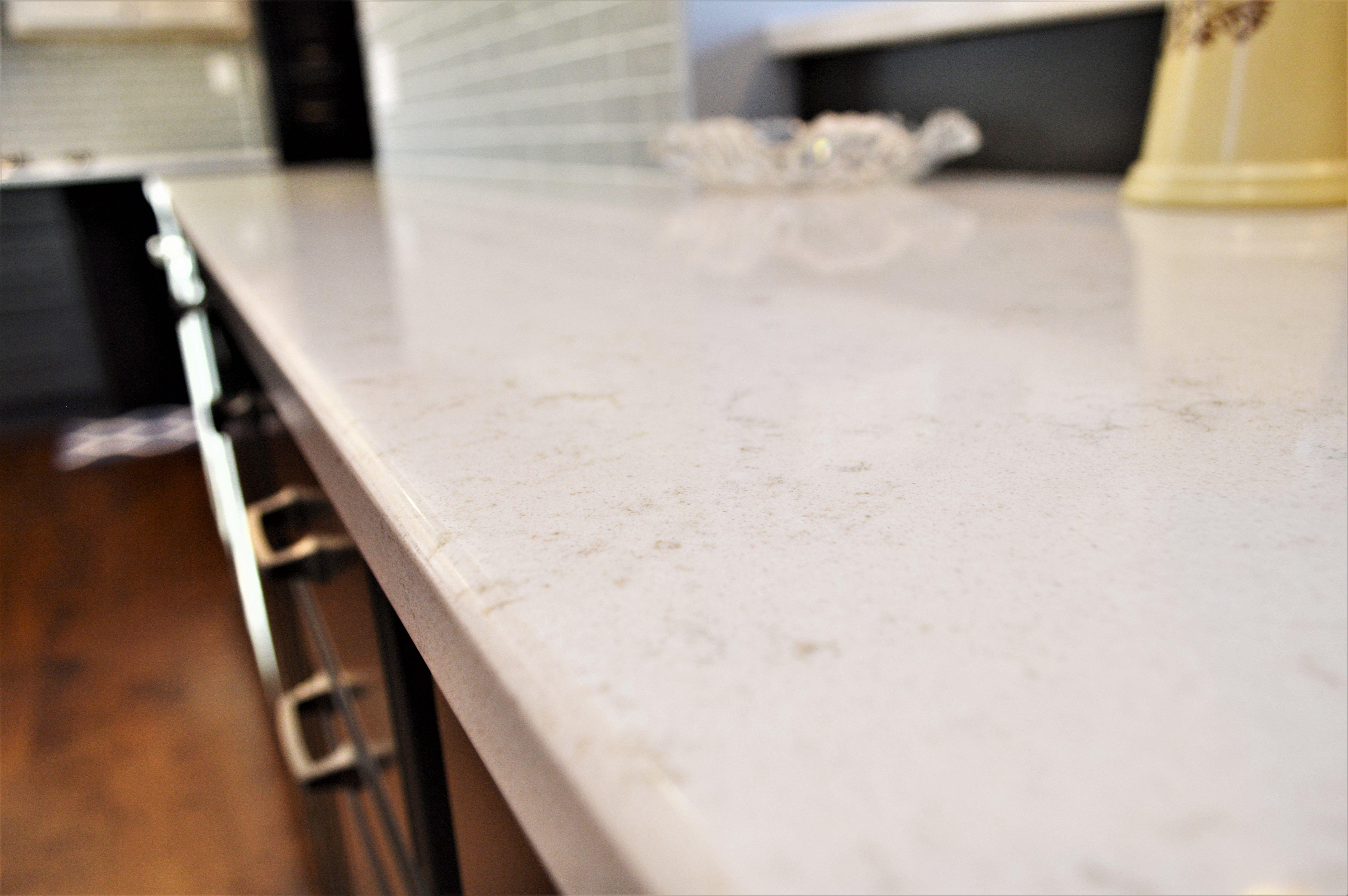 Hanstone Quartz Counter Top Double Radius Edge Detail Aspen