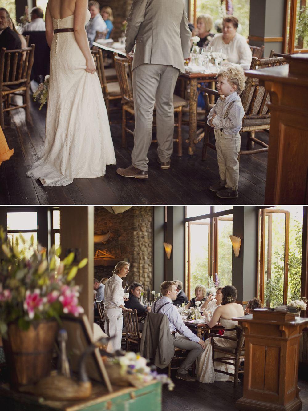 Wedding dress River Caf Wedding Princes Island