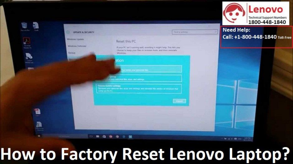 1 888 260 0455 How To Factory Reset Lenovo Laptop Windows Help Lenovo Laptop Lenovo Laptop Windows