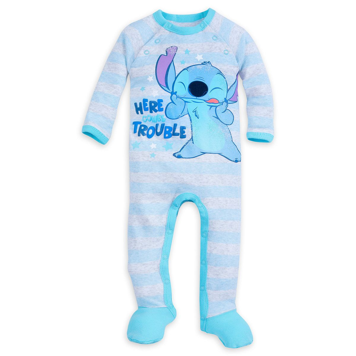 Disney Stitch Stretchie Sleeper for Kids