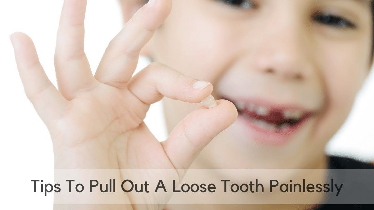 While teeth often fall out on their own, sometimes they