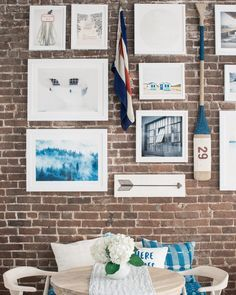 How To Hang A Gallery Wall On Exposed Brick Walls Bright Bazaar By Will Taylor Diy Gallery Wall Exposed Brick Walls Picture Gallery Wall