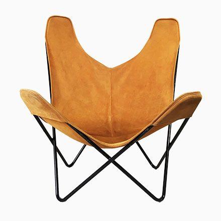 Butterfly Sessel von Jorge Hardoy-Ferrari für Knoll, 1950er Jetzt - esszimmer 1950
