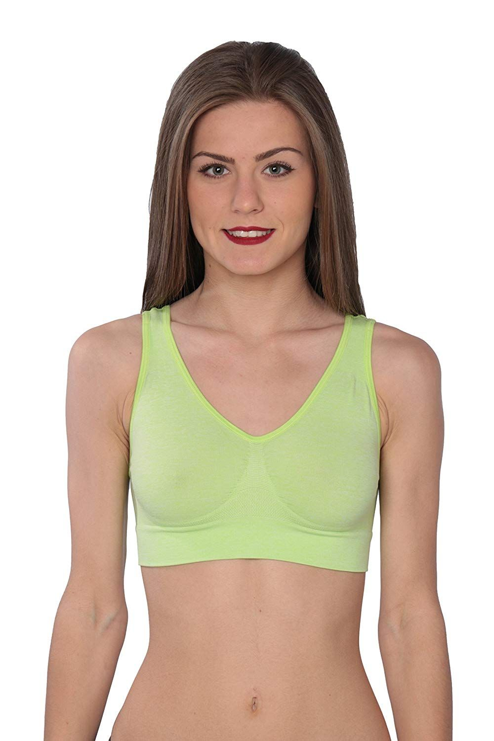 bf11cd358 Hanes Women s Cozy Seamless Wire Free Bra at Amazon Women s Clothing store