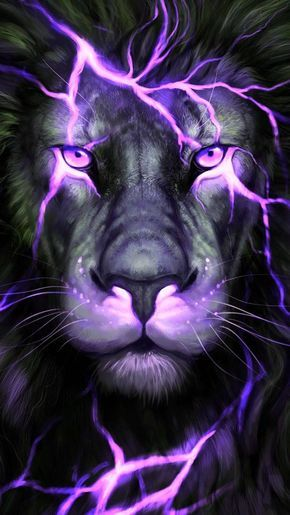 Download Wallpaper Wallpaper By Mamad57 87 Free On Zedge Now Browse Millions Of Popular Purple Lion Wallpapers And Ring Lion Art Lion Artwork Lion Images