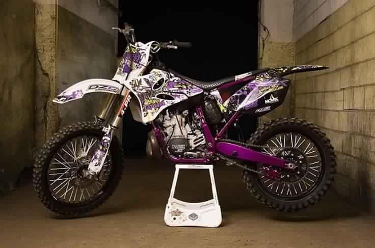I Want A Bike Like This But The Purple Parts Blue Custom Dirt