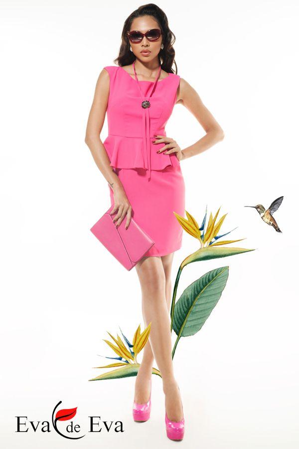 Minh Triệu - Thời trang Eva de Eva ra mắt Hot Trend – Hot Summer - Váy peplum