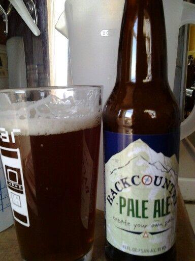 Backcountry Pale Ale Cerveja Garrafas