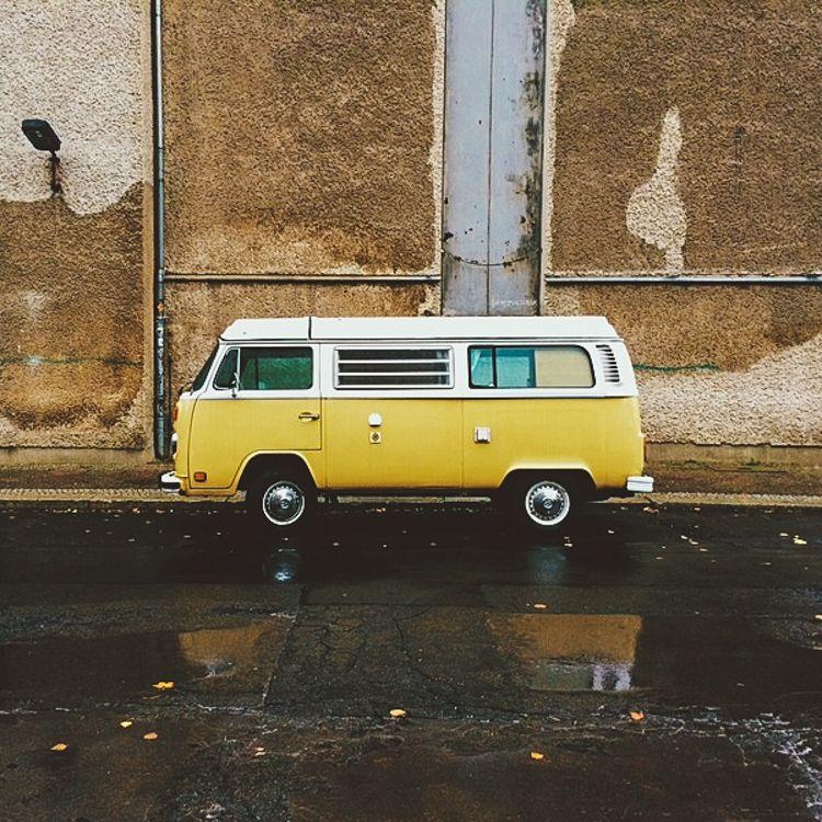 3 Volkswagen Electric Hippie Van