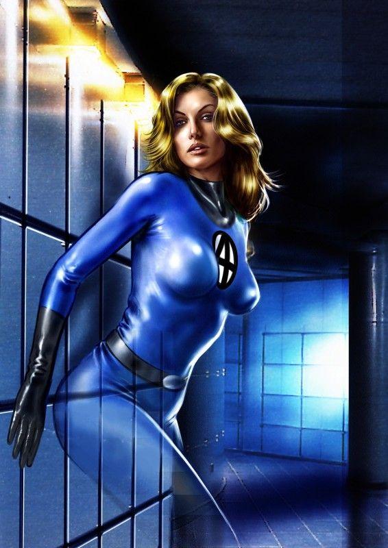 Women of marvel universe marvel comics invisible woman - Femme invisible 4 fantastiques ...