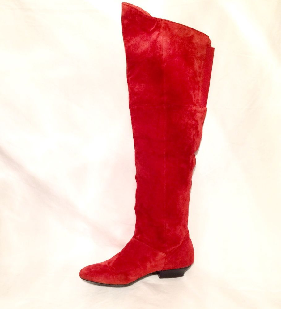 30443ae4c9 Chinese Laundry Over The Knee Red Suede Boot #fashion #clothing #shoes  #accessories #womensshoes #boots (ebay link)