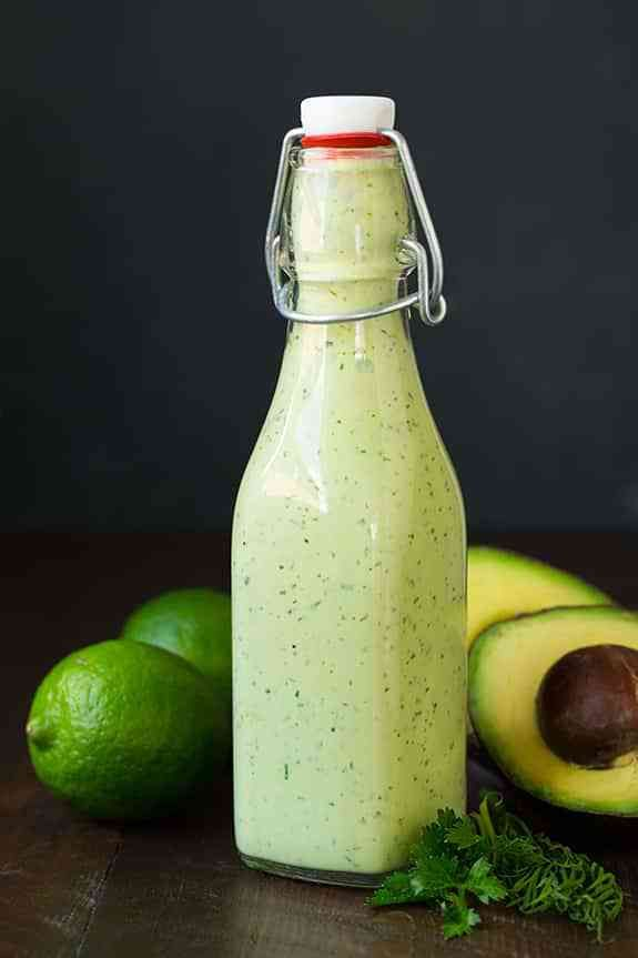 RecipesFeedFood.Com | Healthy Recipes | Avocado Greek Yogurt Ranch Dressing