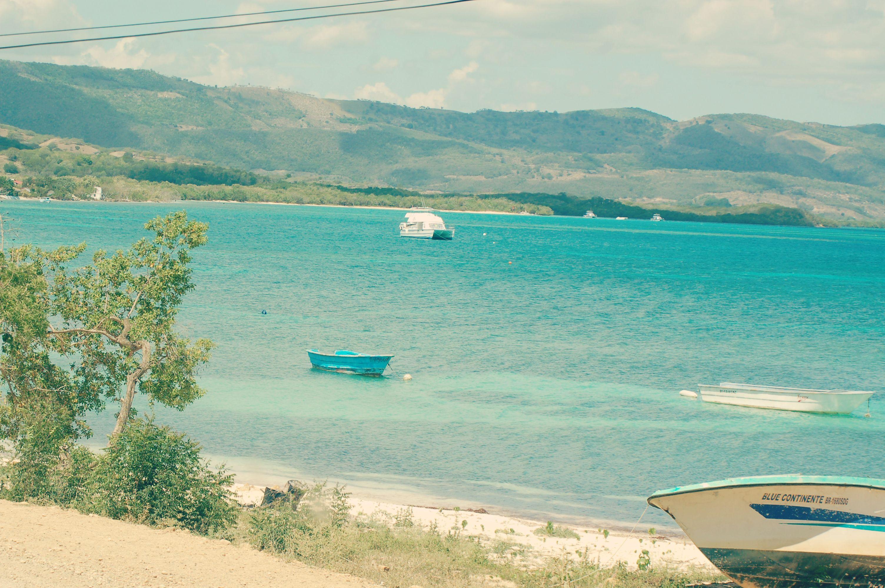 Vista de la costa en Punta Rucia, República Dominicana.