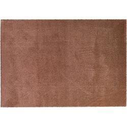 Hochfloorteppich Soft Shaggy - kupfer - Mikrofaser, Synthethische Fasern - 120 cm - Teppiche > Wohnt #texturespatterns