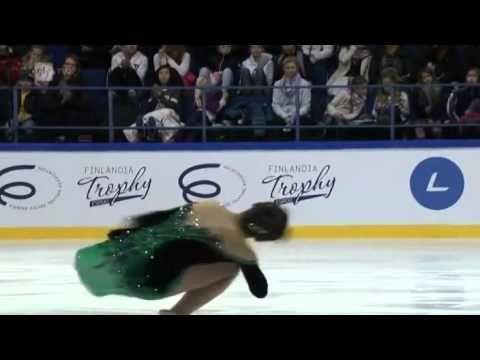 Rika HONGO Free Skate Finlandia Trophy 2015