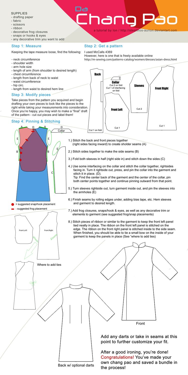 Chang pao sewing tutorial by stealthos aurioniantart on chang pao sewing tutorial by stealthos aurioniantart on deviantart jeuxipadfo Choice Image