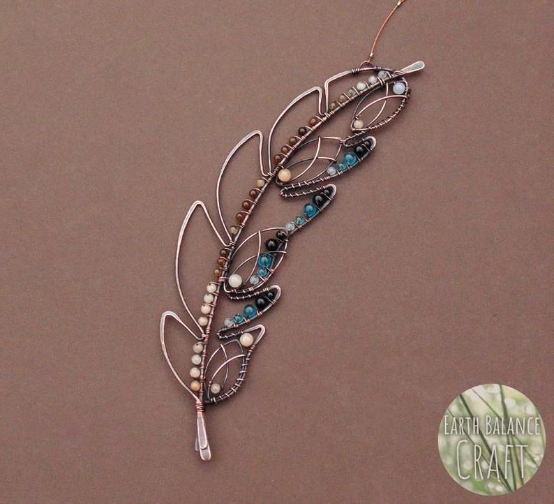 Blue jay feather decoration woodland bird art etsy