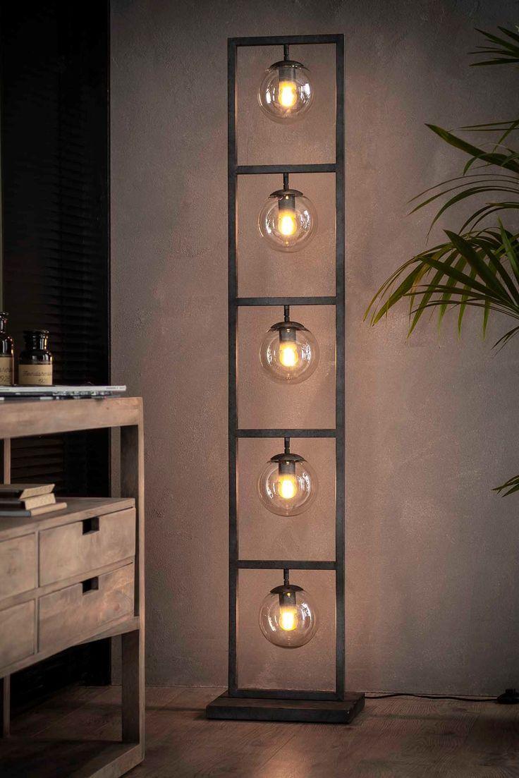 Great Industrial Lamp Sculpture Stehlampe Wohnzimmer Stehlampe Industrie Stil Lampen