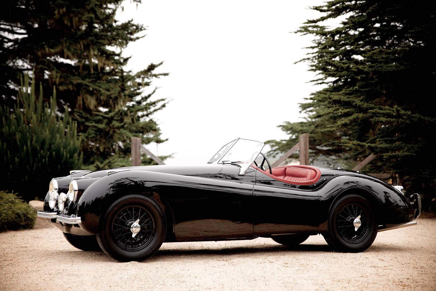 Beware The Black Cat Of Pebble Beach Circuit Cars And Bikes Wiring Diagrams 1957 Jaguar Xk140 1952 Xk120